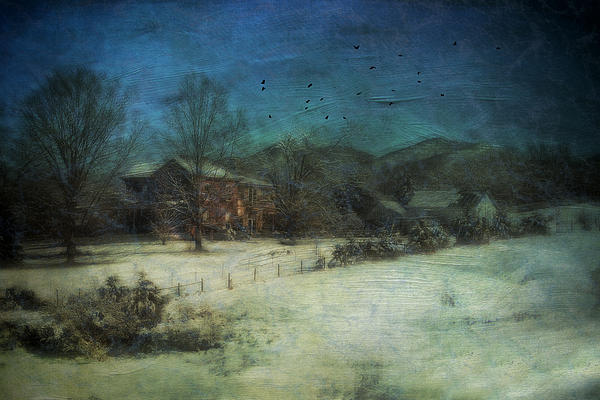 Peaceful In The Country Print by Kathy Jennings