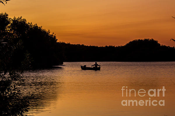 Peaceful Solitude Print by Rene Triay Photography