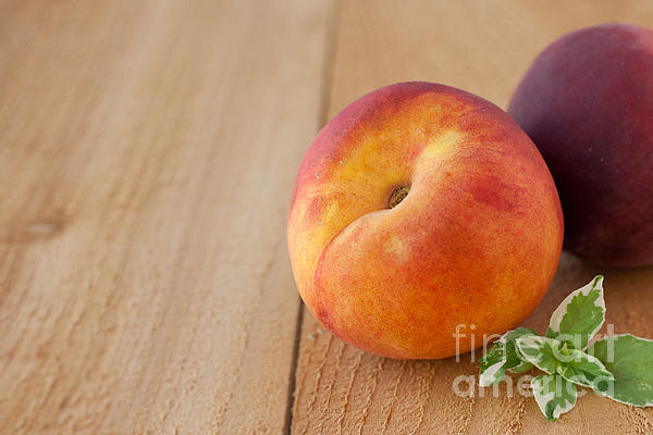 Peaches Print by Kay Pickens