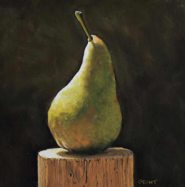 Pear Print by Joanne Grant
