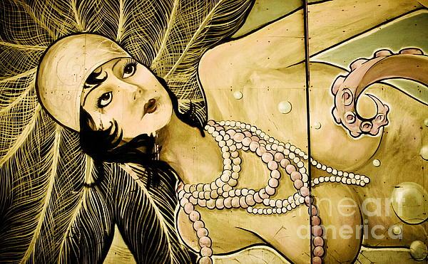Pearl Mermaid  Print by Colleen Kammerer
