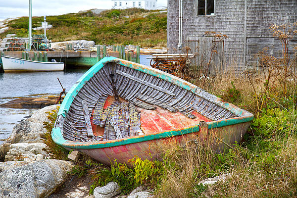 Peggy's Cove 11 Print by Betsy A  Cutler