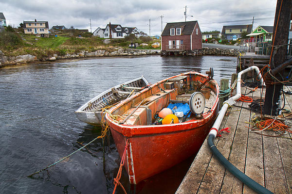 Peggy's Cove 19 Print by Betsy C  Knapp