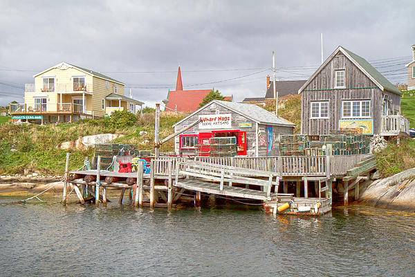 Peggy's Cove 7 Print by Betsy C  Knapp