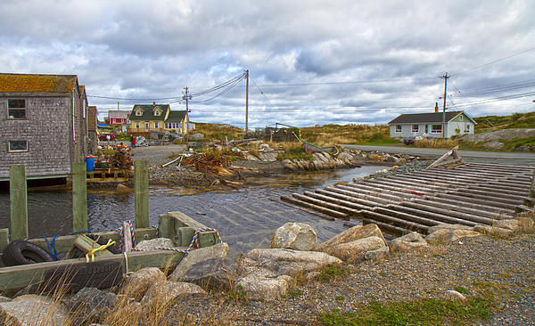 Peggy's Cove 8 Print by Betsy A  Cutler