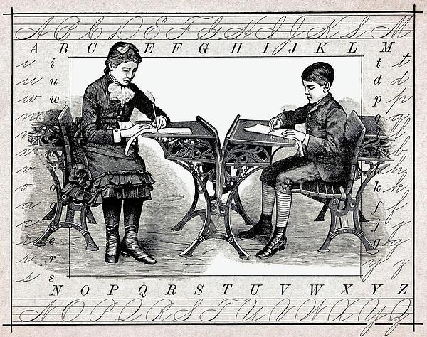 Penmanship Print by Daniel Hagerman