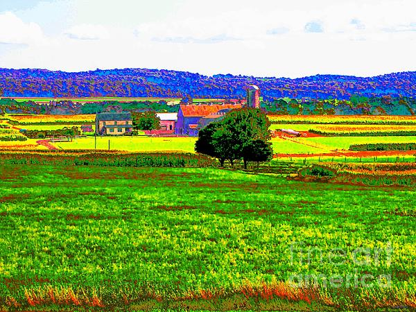 Pennsylvania Farm II Print by Annie Zeno
