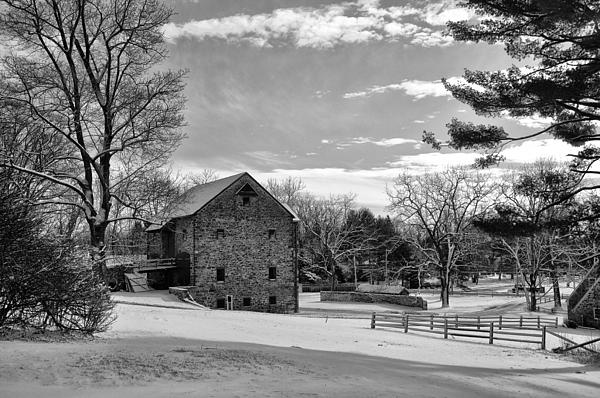 Pennsylvania Winter Scene Print by Bill Cannon