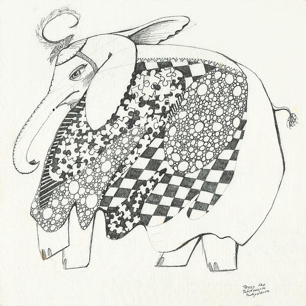 Melinda Dare Benfield - Penny the Patchwork Pachyderm