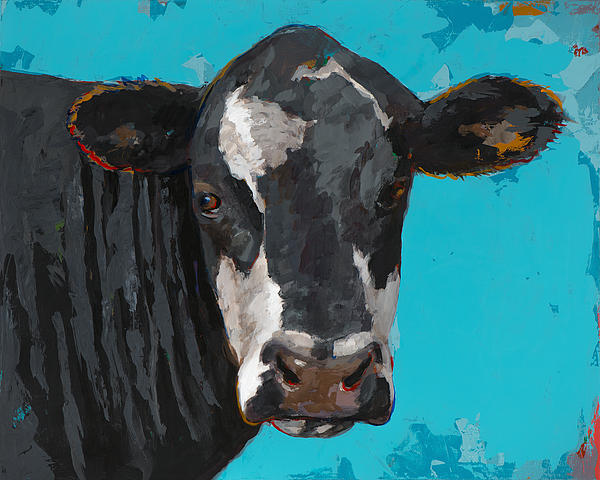 People Like Cows #8 Print by David Palmer