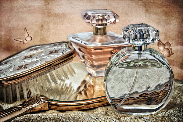 Perfume Bottle Ix Print by Tom Mc Nemar