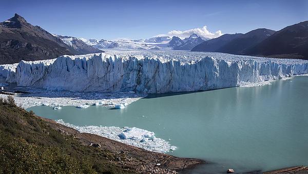 Perito Moreno Glacier Print by Kim Andelkovic