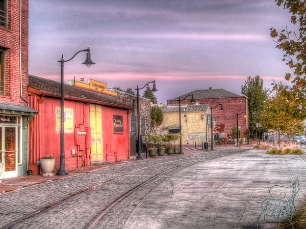 Petaluma Morning Print by Bill Gallagher
