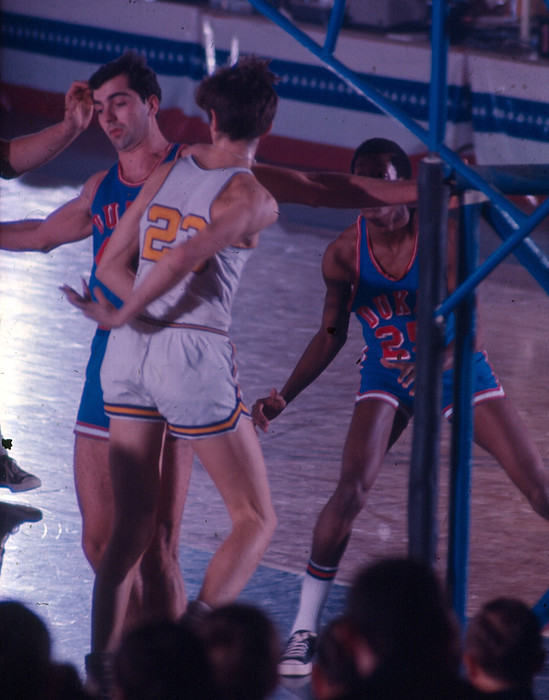 Pete Maravich Behind The Back Pass by Retro Images Archive
