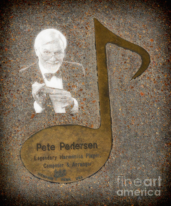Pete Pedersen Note Print by Donna Van Vlack