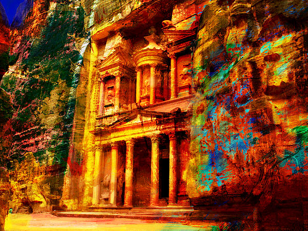 Petra Print by Catf