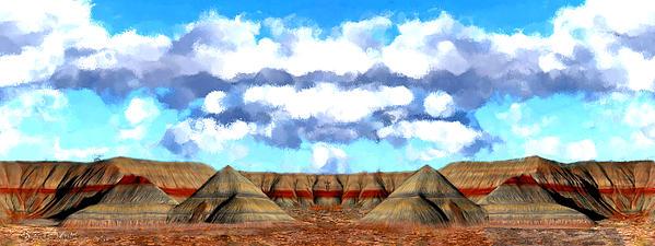 Bruce Nutting - Petrified Arizona Panorama
