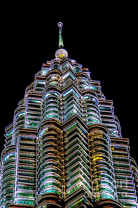 Petronas Tower Print by Adrian Evans