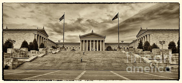 Philadelphia Art Museum 4 Print by Jack Paolini