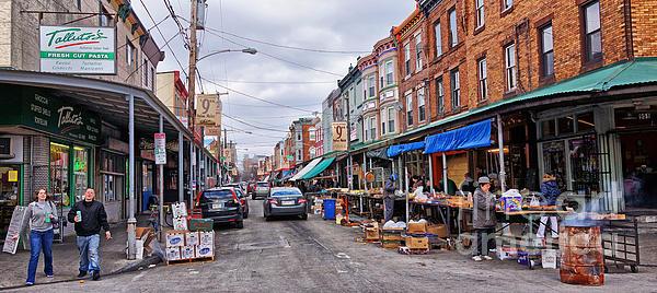 Philadelphia Italian Market 2 Print by Jack Paolini