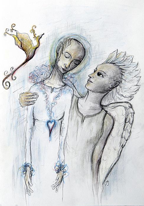 Phoenix Print by Hege Jasmin Andersen