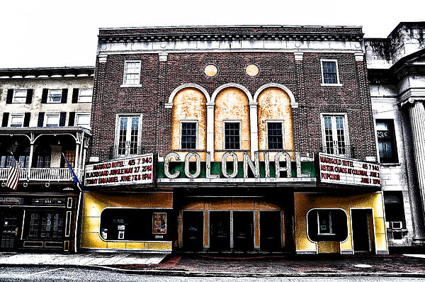 Phoenixville's Colonial Theater Print by Bill Cannon