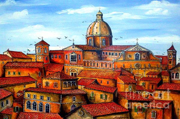 Piazza Armerina Sicily Print by Roberto Gagliardi