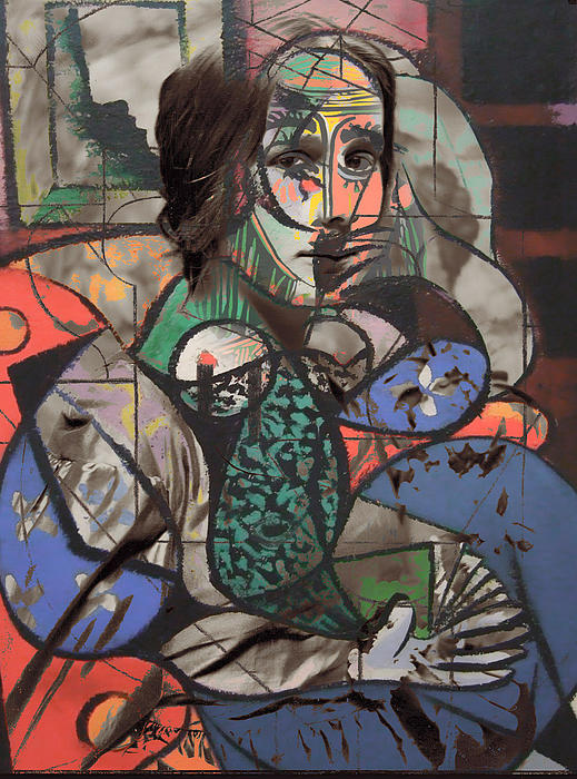 Picasso And Me  Print by Jerry Cordeiro