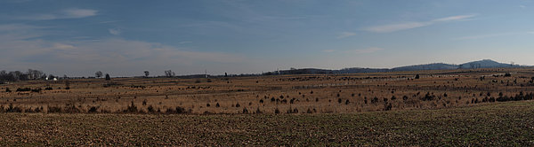 Picketts Charge From Seminary Ridge Print by Joshua House