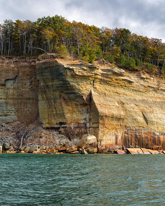 John Bailey - Pictured Rocks An Ongoing Work