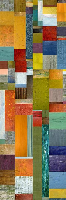 Pieces Parts Lll Print by Michelle Calkins