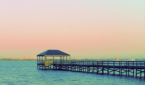 Kay Gilley - Pier at Sunrise