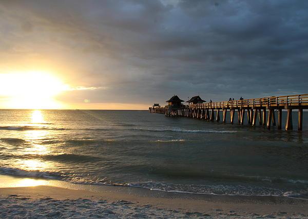 Christiane Schulze Art And Photography - Pier Sunset Naples