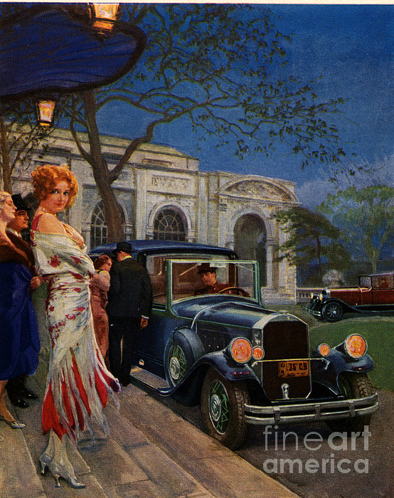 Pierce Arrow  1920s Usa Cc Cars Womens Print by The Advertising Archives