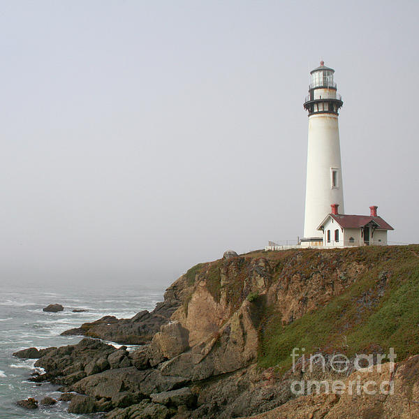 Pigeon Point Lighthouse Print by Art Block Collections