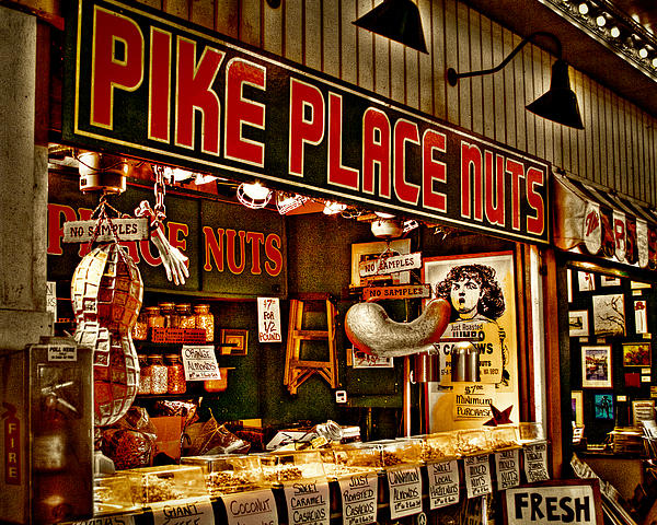 David Patterson - Pike Place Nuts - Seattle Washington