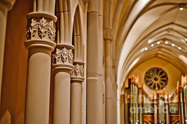 Pillars Of Faith Print by Will Cardoso
