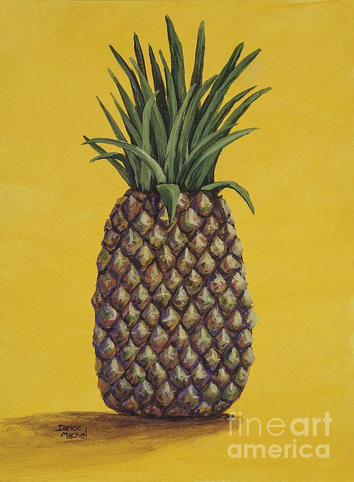 Pineapple 4 Print by Darice Machel McGuire