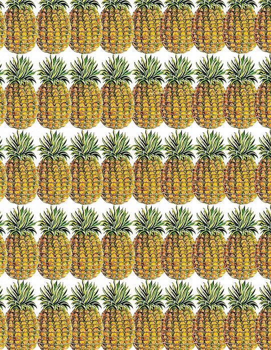 Pineapple Parade Print by John Keaton