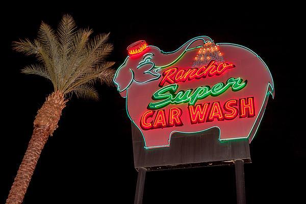 The Pink Elephant Car Wash
