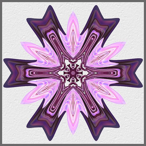 Pink Ribbons Print by Pat Follett