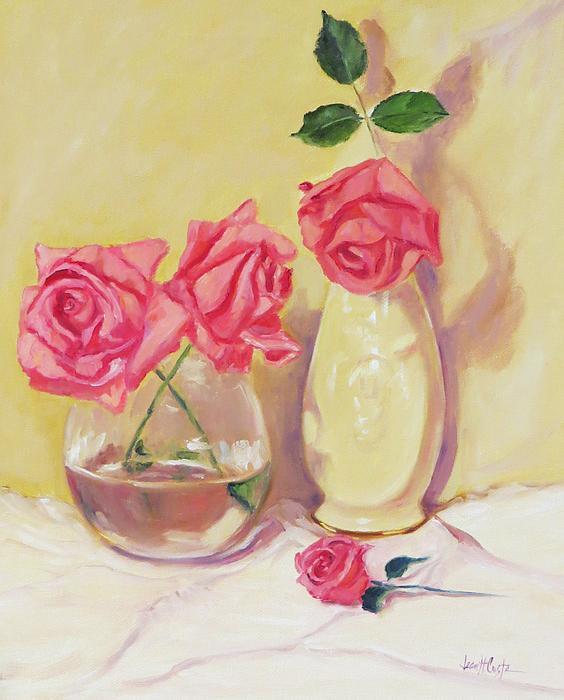 Jean Costa - Pink Tea Roses