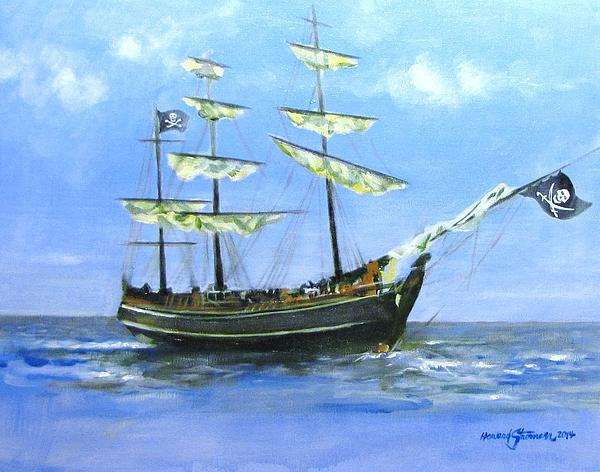 Pirate Print by Howard Stroman