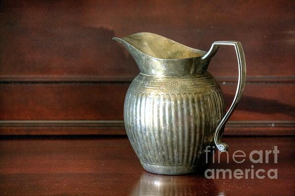 Pitcher Print by Chris Anderson
