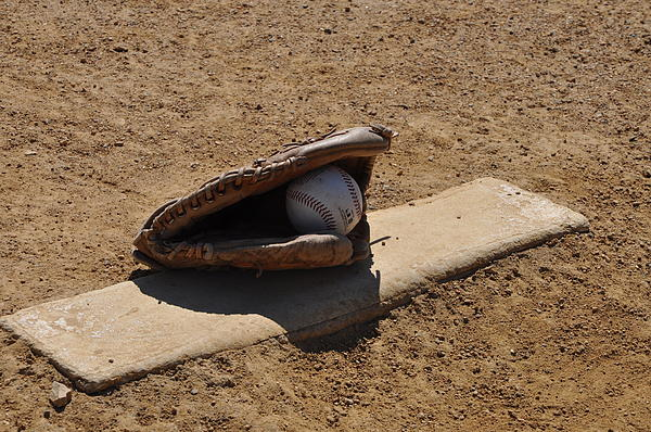 Pitchers Mound Photograph