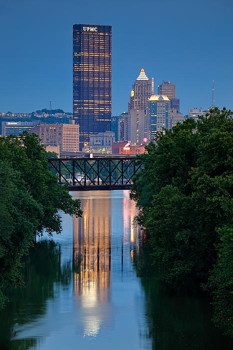 Pittsburgh 67 Print by Emmanuel Panagiotakis