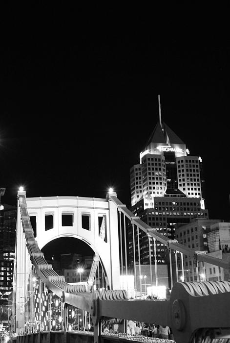 Pittsburgh Bridge Print by Josh Ebel