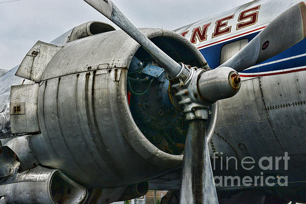 Plane Check Your Engine Print by Paul Ward