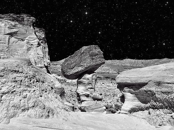 Planet Oz - Southwest Surreal Landscape Print by Vlad Bubnov