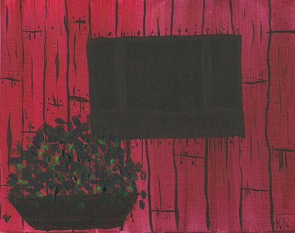 Planter Print by Keith Nichols